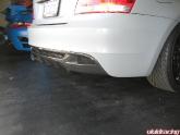 BMW 135I Flat Gray with iCarbon Aero Kit