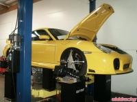 Project 996TT Gets Full Race Alignment
