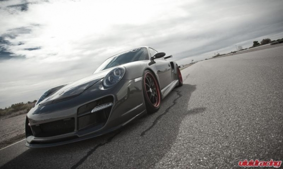 Porsche 997 Turbo at AMP Road Course
