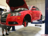 Audi A3 JIC Cross Coilover Install