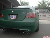 Bmw M5 Wrapped Green With Vorsteiner, Corforged, Stoptech