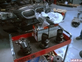 Project Bmw M5 Power Parts - Agency Power Exhaust And K&n Intake
