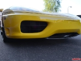 Up Close Photo of Carbon Fiber Spoiler Ferrari 360