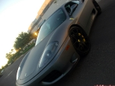 Matte Gray Carbon Oracle Wrap Ferrari 360 Modena