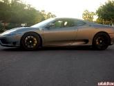Matte Gray Carbon Oracle Wrap Ferrari 360 Modena
