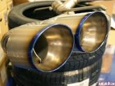 Meisterschaft Titanium Exhaust For the GTR