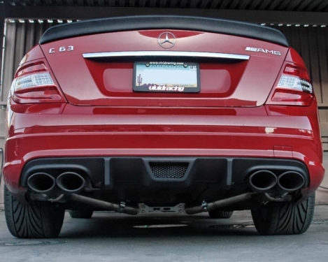 Project C63 with Vorsteiner Carbon Diffuser