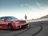 Mercedes C63 with Vorsteiner HRE Agency Power