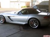 Viper SRT10 H&R Coilovers & Rotora Rotors Installed