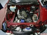 RX8 20B Turbo Mounted