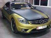 Saifs Mercedes CL in Dubai