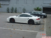 Salih's White 997TT with HRE, PSS10, TechArt