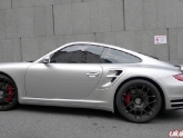 Sean 997TT with HRE P40 Wheels and Fabspeed Tips