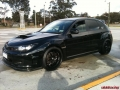 2008 Subaru STI Advan RS-D Wheels 19 inch Michelin