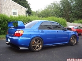 Lisa Subaru Sti With Chargespeed And Voltex