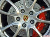 Brembo 2pc Rotors on a 997 GT3
