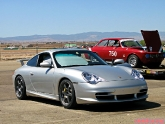 "18"" Volk TE37 on Porsche 996 GT3"