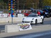Tim Drag Racing his 997TT to 11.16sec 1/4mile