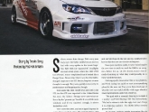 SubieSport March 2008 Magazine Feature