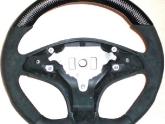 VR Mercedes C63 Custom Steering Wheel Flat Bottom Carbon Top