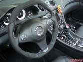 VR Mercedes SL SLK Custom Steering Wheel Alcantara Flat Top