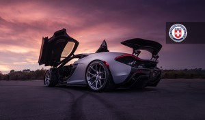 McLaren P1, HRE P101, Brushed Dark Clear