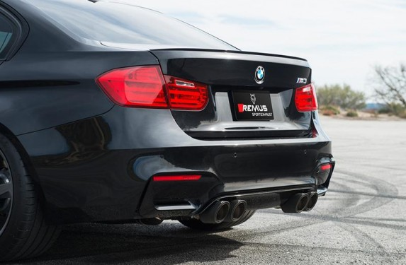 Remus, axle back, catback, exhaust, BMW, M4, F82, F83