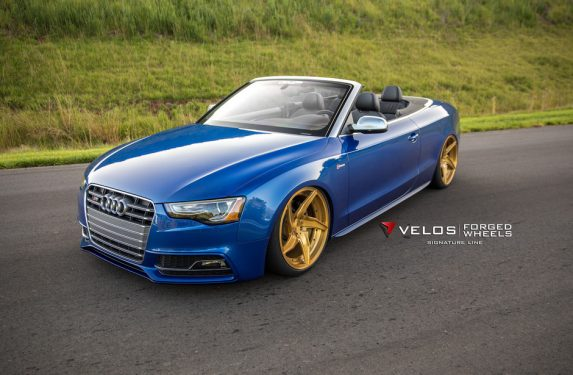 Audi S5, Velos D5 forged wheels, GMP Performance