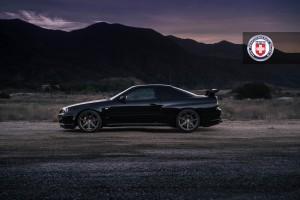 Nissan Skyline GT-R, HRE RS108M, Satin Bronze