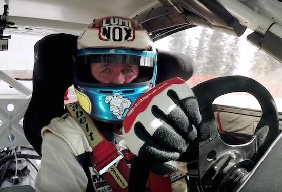 Jeff Zwart GT3 Porsche Cup Race Pikes Peak Hill Climb