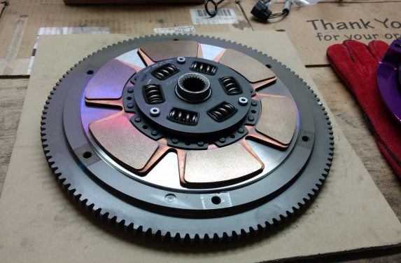 Exedy stage 3 hyper single metallic disc clutch kit, Subaru Impreza WRX STI