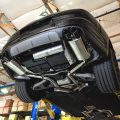 Fabspeed Maxflo performance exhaust, Porsche Panamera Turbo