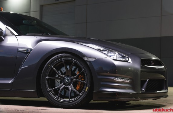 V-FF 103 Wheels on Nissan GTR R35