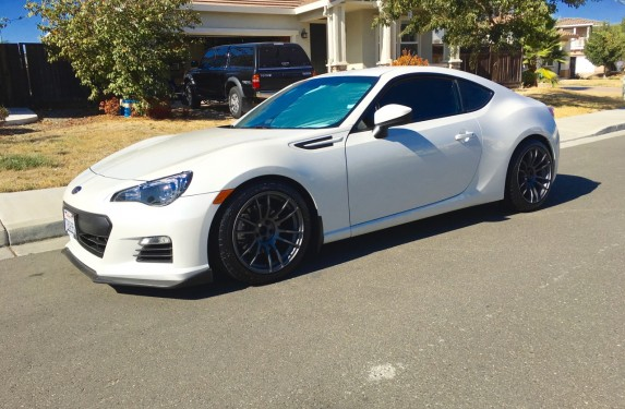 White Scion FRS on Gramlights