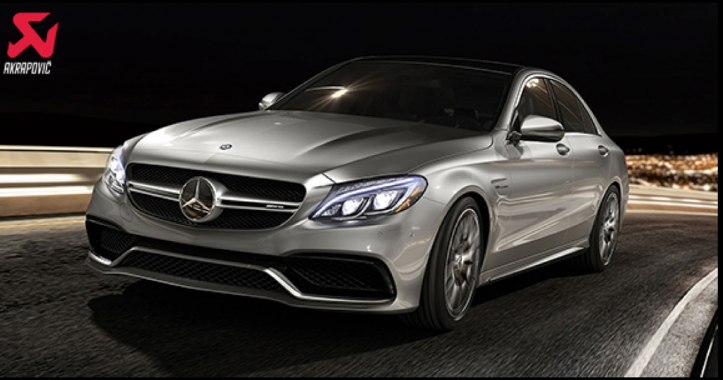 Akrapovic exhaust system, Mercedes-Benz, C63, AMG