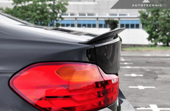 AutoTecknic, carbon fiber, trunk spoiler, BMW, F32, 4-Series