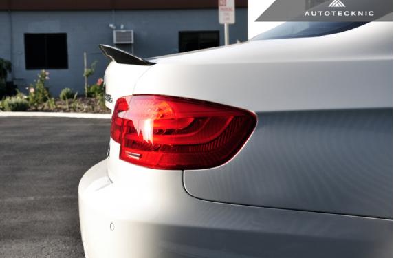 AutoTecknic, Vacuumed, Carbon fiber, Trunk spoiler, BMW, 3-series, M3