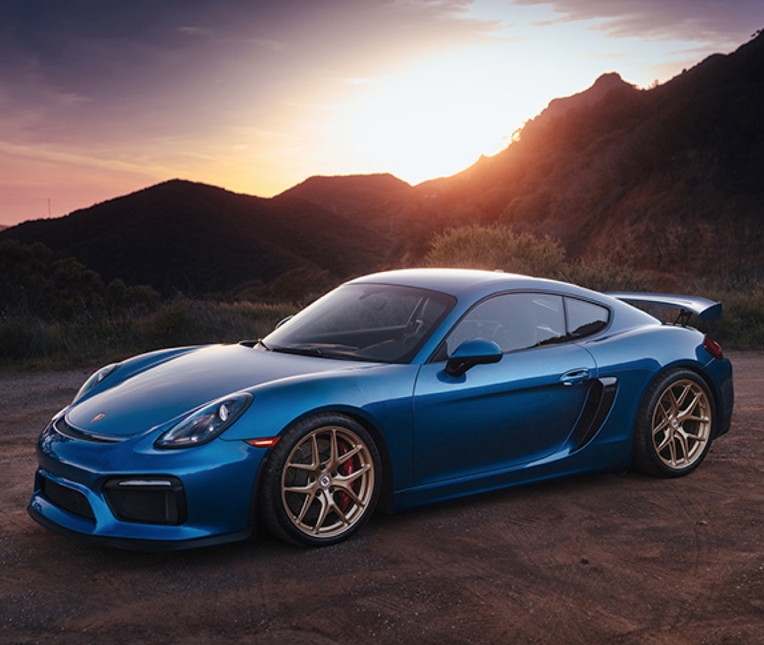 Akrapovic, titanium exhaust system, Porsche GT4