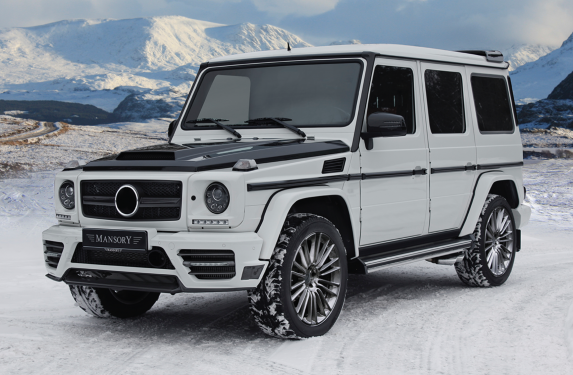 MANSORY, diffuser, bonnet, side skirts, body kit, Mercedes-Benz, G Wagon, truck
