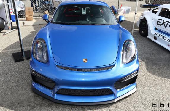 BBi Autosport, Porsche 981 Cayman GT4, StreetCup, Roll bar
