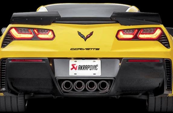 Akrapovic, exhaust system, Chevrolet, Corvette, C6, C7,, stingray
