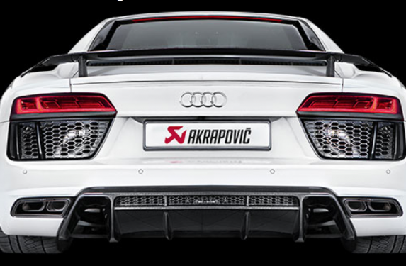 Akrapovic, slip-on line exhaust, coupe, spider, Audi, R8, performance