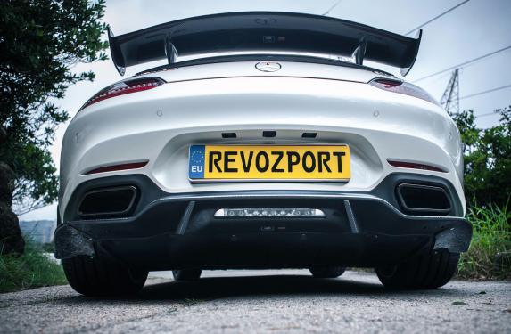 RevoZport, aero body kit, Mercedes, GTS, GTZ-650, black edition, track