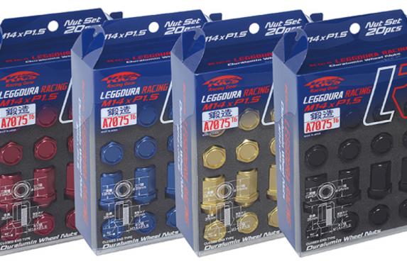 Project Kics Leggdura Lug Nut, chrome, powder coated, custom