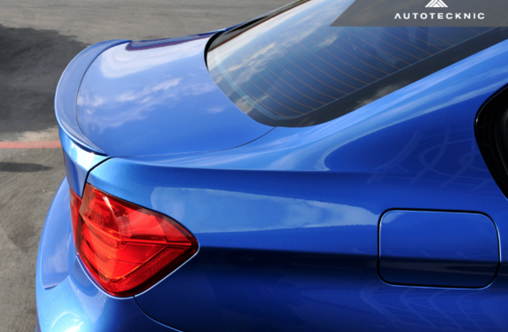 AutoTecknic, trunk spoiler, low-kick, BMW, F30, M3, sedan, 3-series, ABS