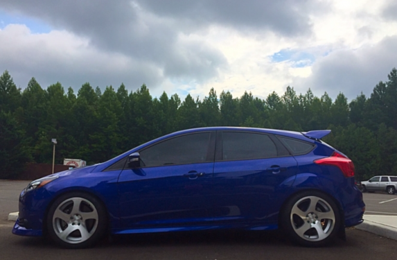 Ford Focus, Rotiform wheels, rims, machined silver, TMB, powder coat