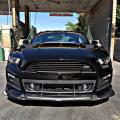 APR Performance, front wind splitter, carbon fiber, Ford Mustang, performance