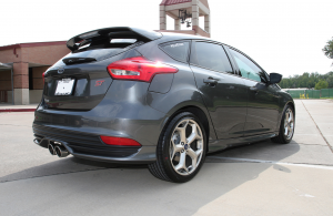 Ford Focus ST, Borla exhaust system, touring, stainless steel, performance