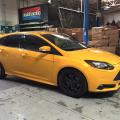 Ford Focus ST, upgrade, ECU flash, performance