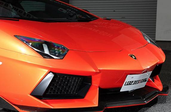 Lamborghini Aventador, Leap Design, carbon fiber aerodynamic parts, Ferrari 458 Italia